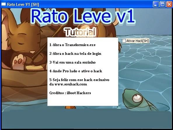 Transformice Hack Pop: Rato Leve V1