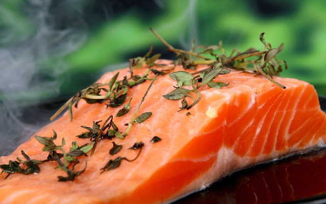 Beauty Hacks - Ikan Salmon