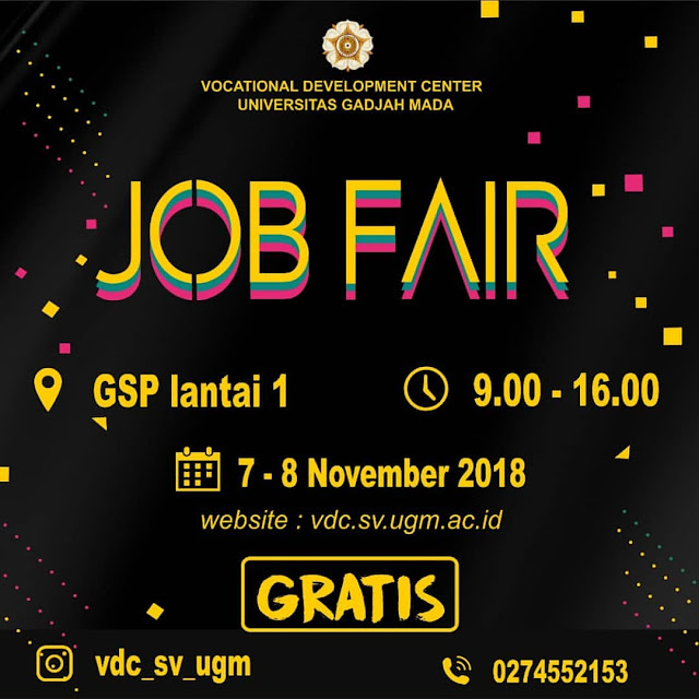 Job Fair UGM Gratis