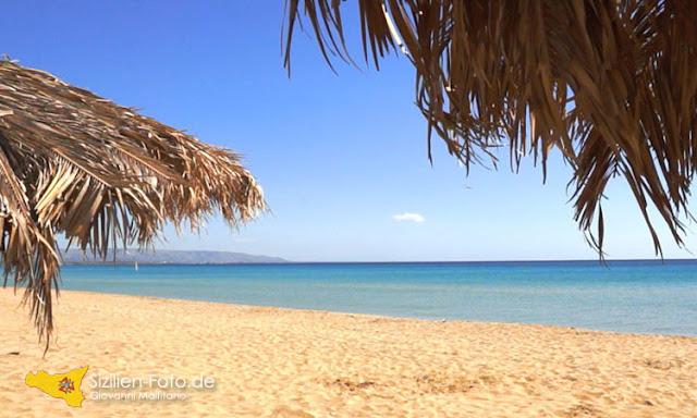 Strand von San Lorenzo bei Noto