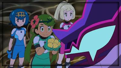 Pokemon Sol y Luna Capitulo 89 Temporada 20 Un prisma de luz y oscuridad, su nombre es Necrozma