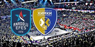 Anadolu Efes - Khimki Moskova Canli Maç İzle 10 Ocak 2019