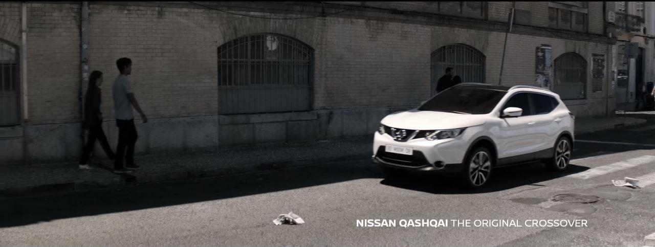 Canzone Nissan Qashqai Pubblicità