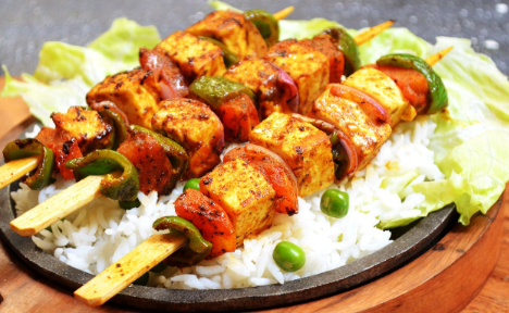 Chinese Fried Rice With Shashlik Recipe