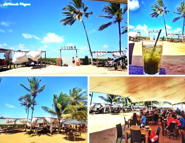 Bar de praia em João Pessoa
