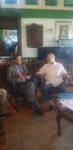 Ex – presidente HM Se reúne con Vocero evangélico, abordan deterioro en progresión de los valores cristianos en el país