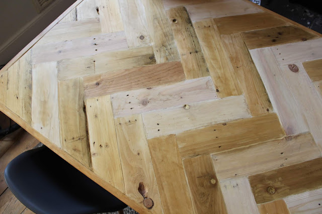 How to Create a Rustic Table Top with Wax