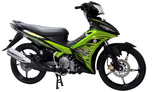 Motorcycle Reviews 2011 New Jupiter MX 135