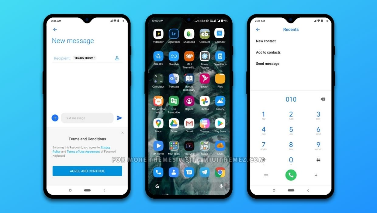 Pixel Experience Squircle MIUI Theme