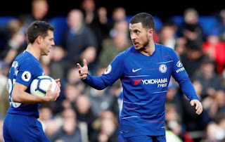 Hazard spared the under-fire Sarri's blushes with his thunderous stoppage-time equaliser,