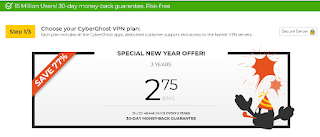 Harga CyberGhost VPN