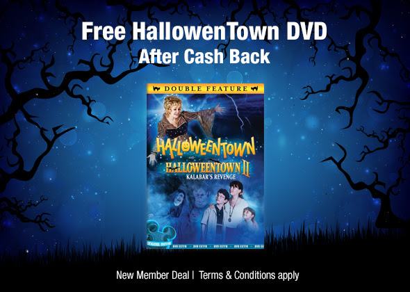 walmart f r e e halloweentown dvd gift set a 996 value