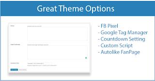 template wordpress premium webevolution fitur 1