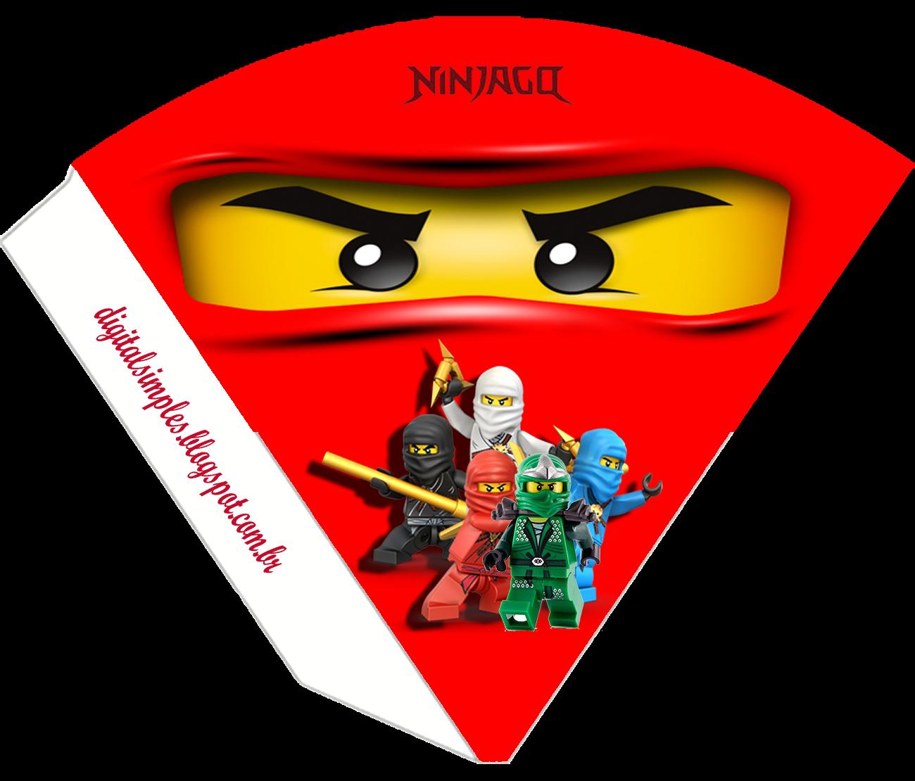 Ninjago Party Free Printable Kit