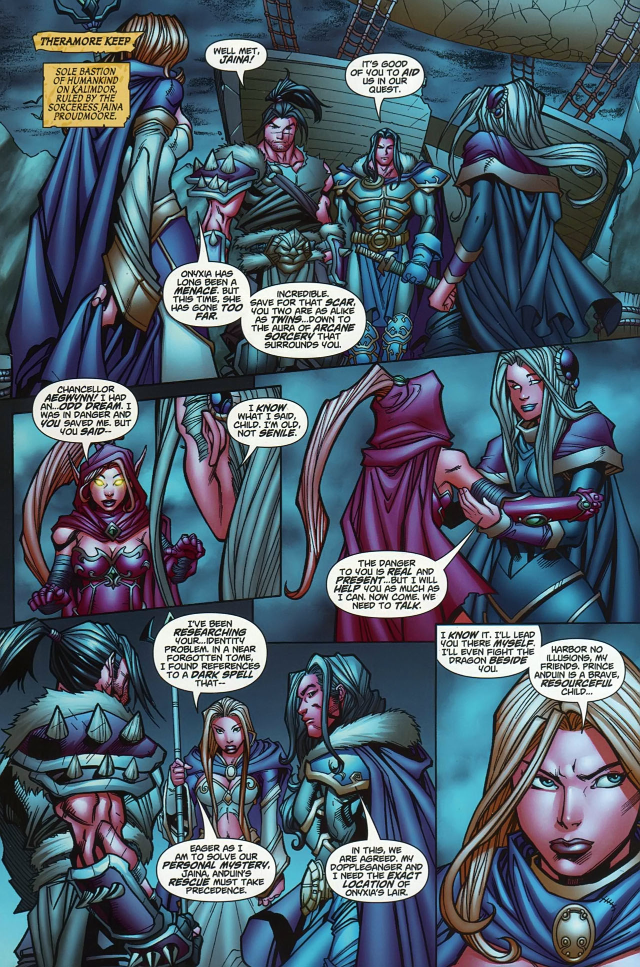 Read online World of Warcraft comic -  Issue #13 - 13