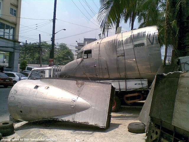 DC-3 scrap photos