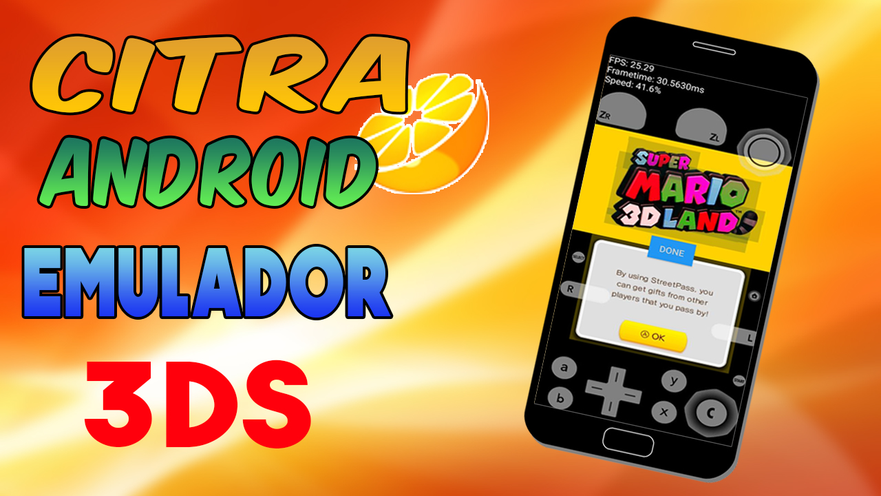 Citra Android 3DS - Emulador 3DS para Android (Alpha