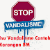 Isu Vandalisme Contoh Karangan BM