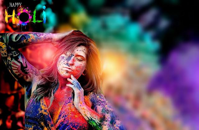 Happy Holi Backgrounds HD 2018