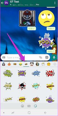 Cara Downlopad Aplikasi Untuk Stiker WhatsApp di Android 7