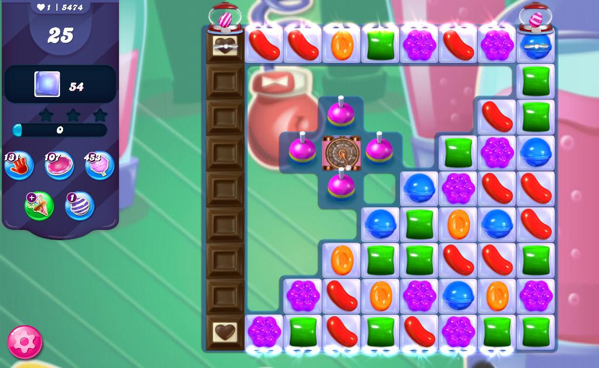 Candy Crush Saga level 5474
