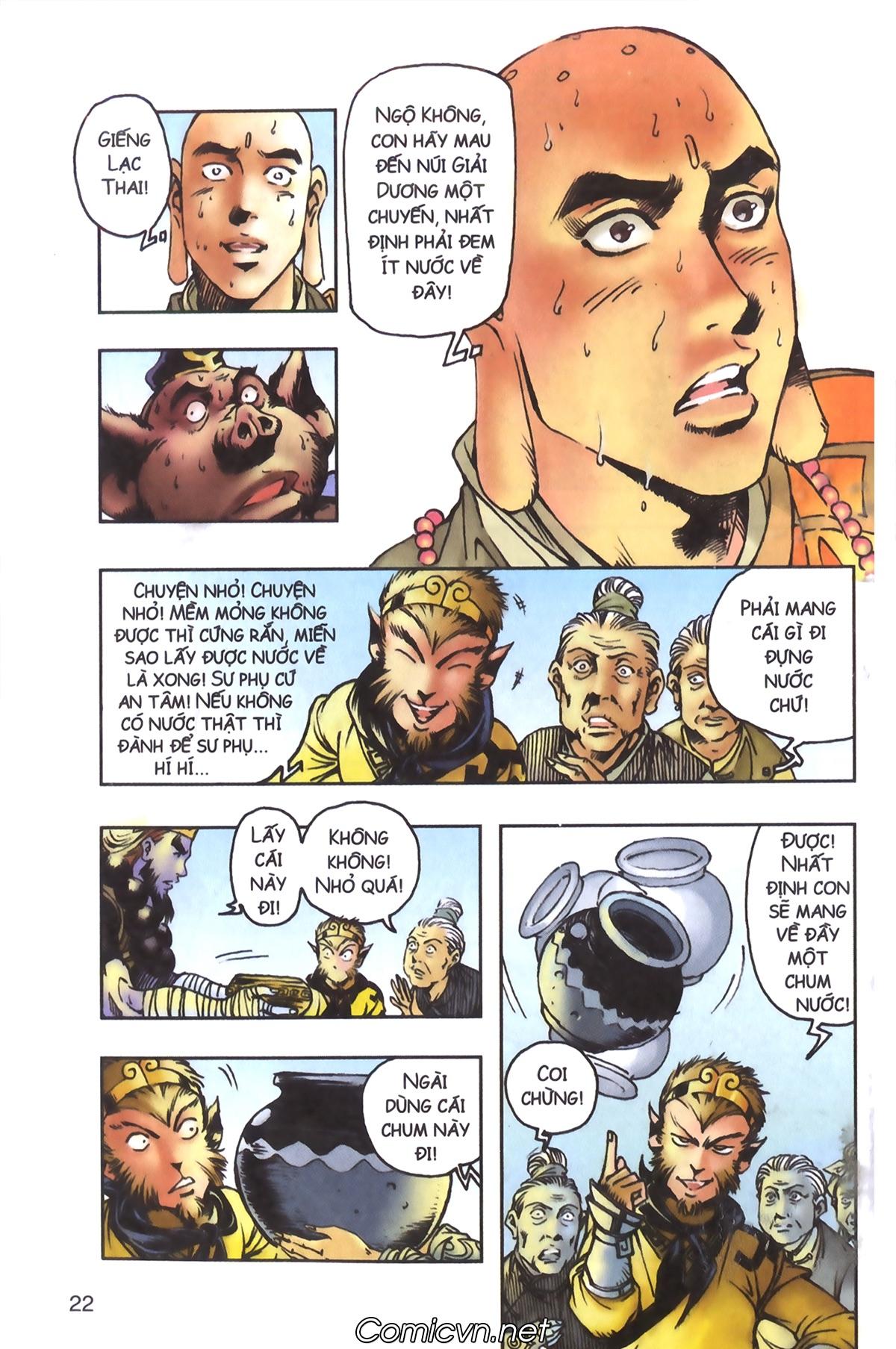 Tây Du Ký màu - Chapter 96 - Pic 20