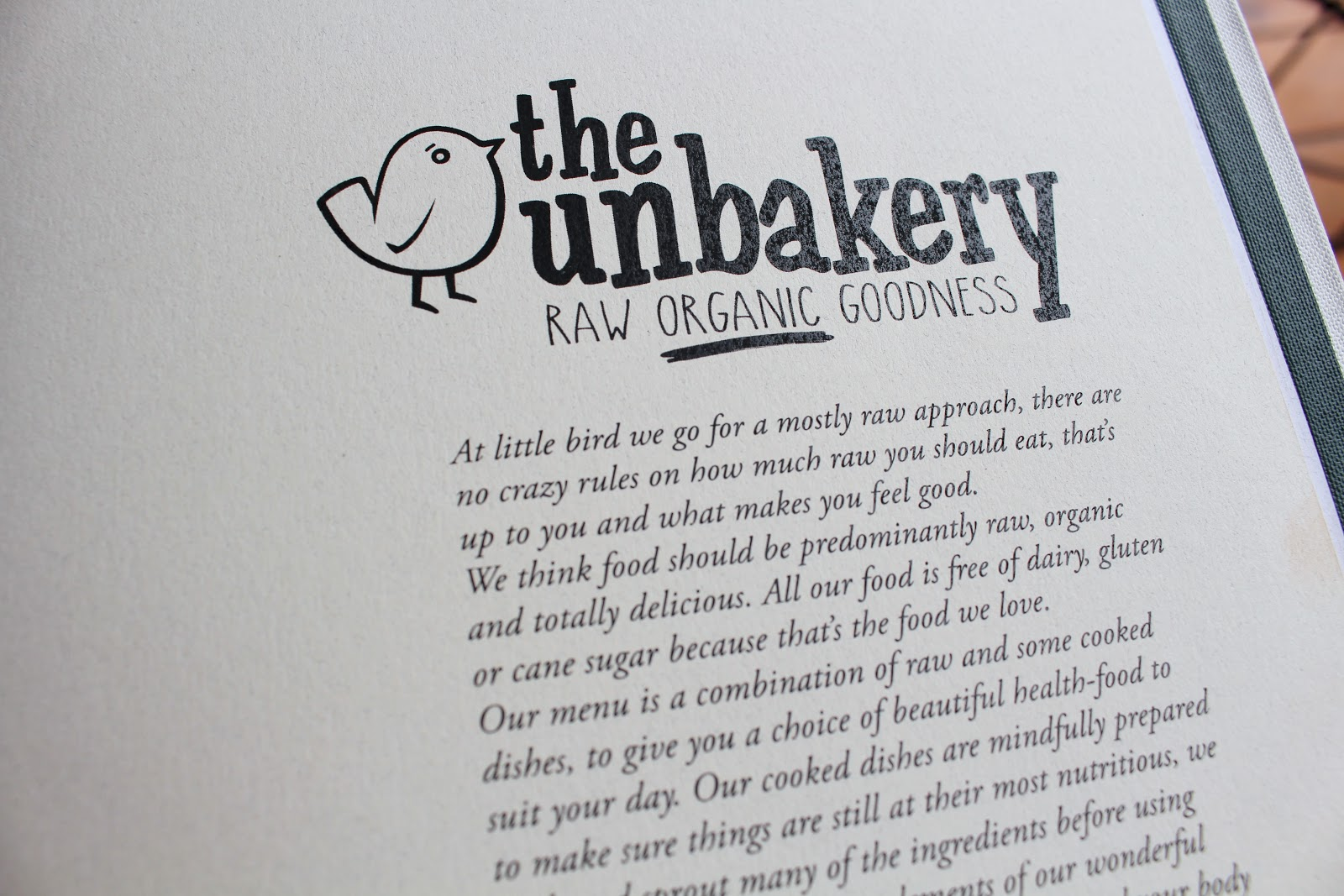 Auckland Hotspot guide - The Unbakery Ponsonby