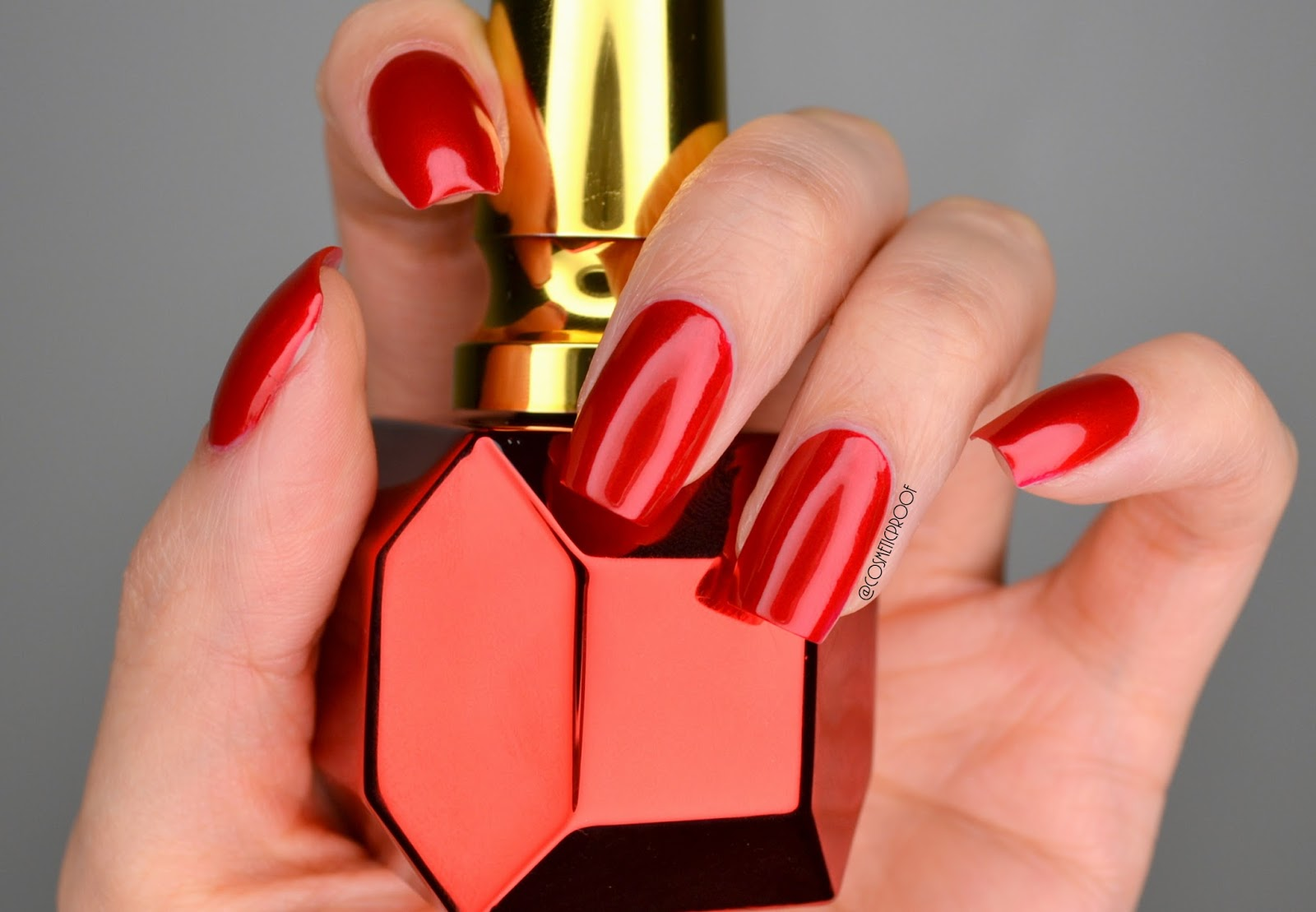 NAILS | Rouge Louboutin Metalissime #ManiMonday | Cosmetic Proof ...