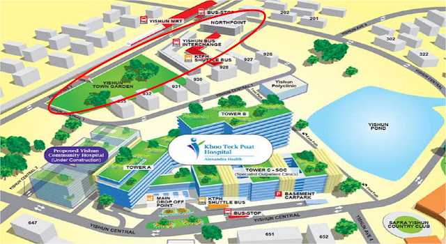 Northpark Residences @ Yishun Location