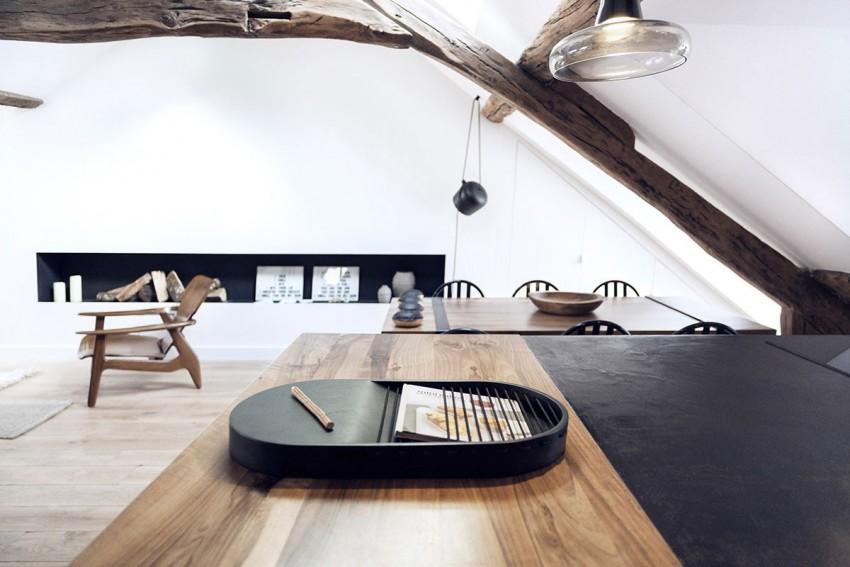 Decoración muy nórdica en un apartamento parisino by Habitan2