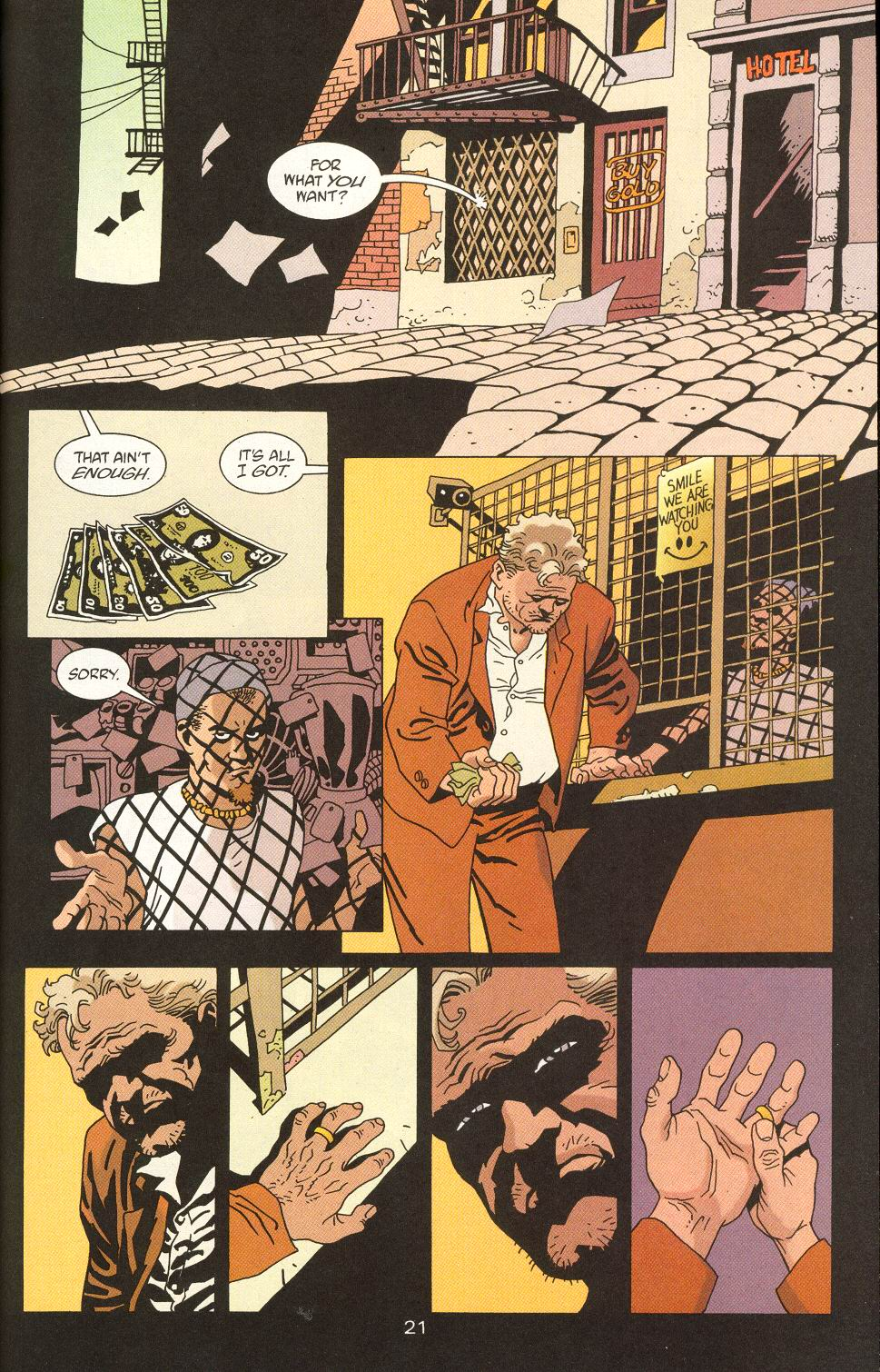 Read online 100 Bullets comic -  Issue #24 - 23