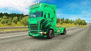 Rob Den Dug paint job for Scania RS RJL