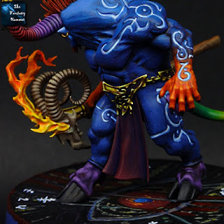 Ogroid Thaumaturge of Tzeentch Diorg'O the Dice Master