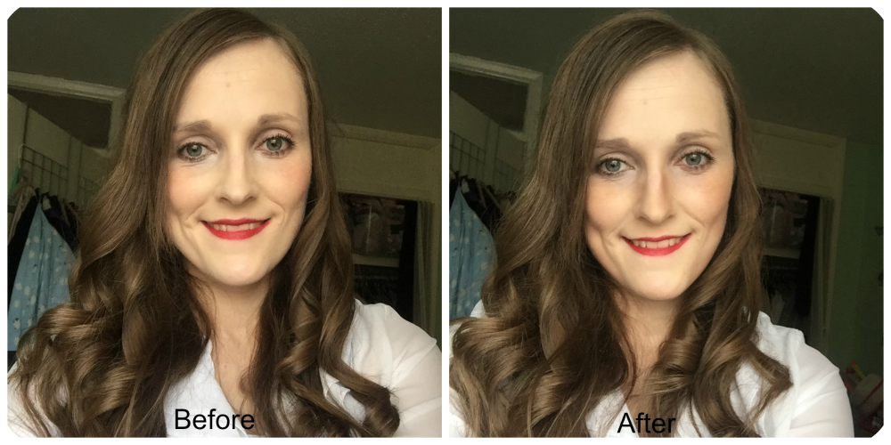 before and after primark ps... contour kit
