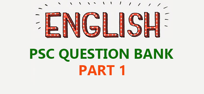 General English PSC Question bank