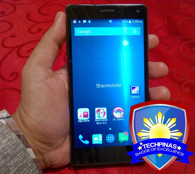 Starmobile Knight X, TechPinas Badge of Excellence