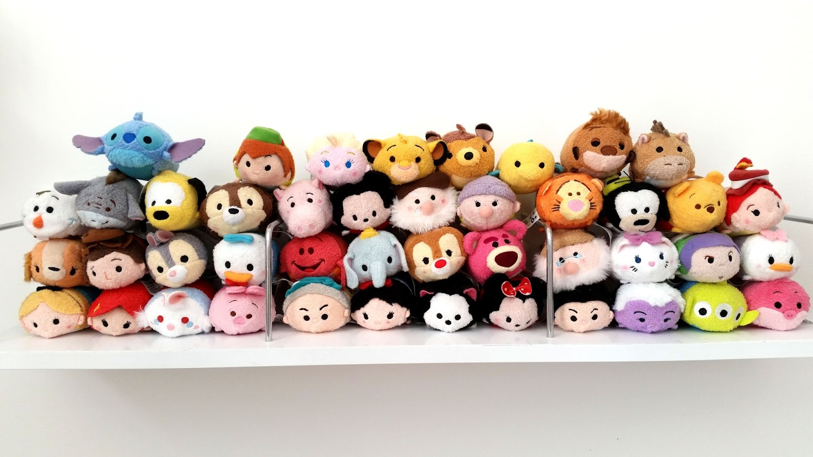 tsum tsum storage ideas