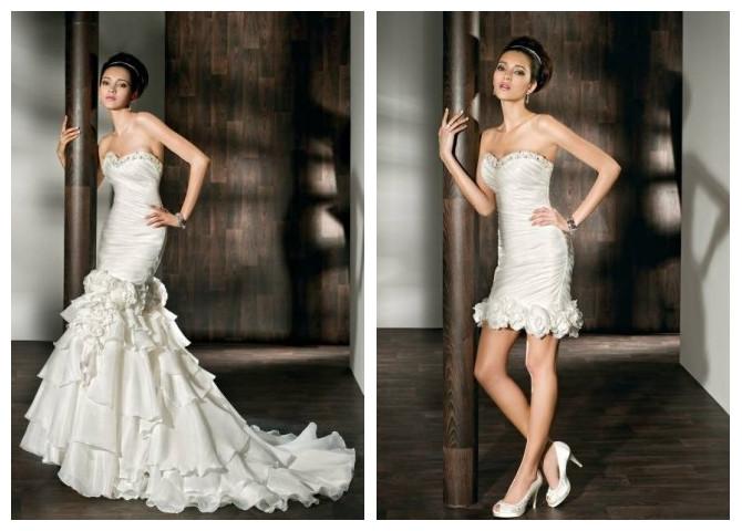 WhiteAzalea 2 In1 Wedding Dresses: March 2013