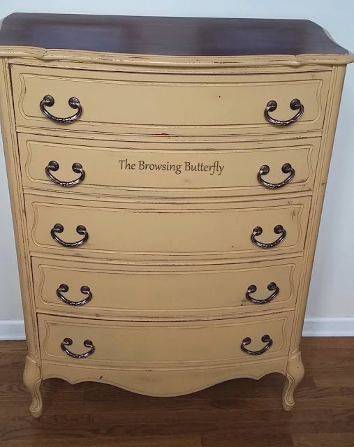 beautiful dresser after