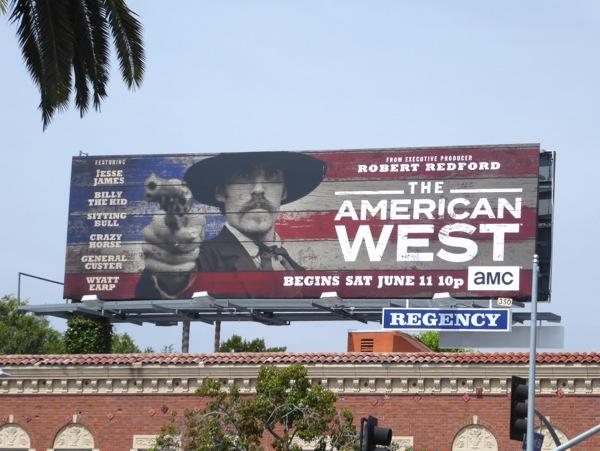 American West series premiere billboard
