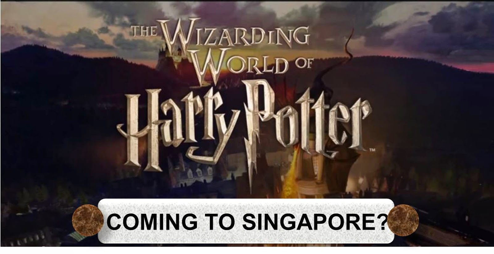 Second Drop Attractions Will Harry Potter Come To Uss