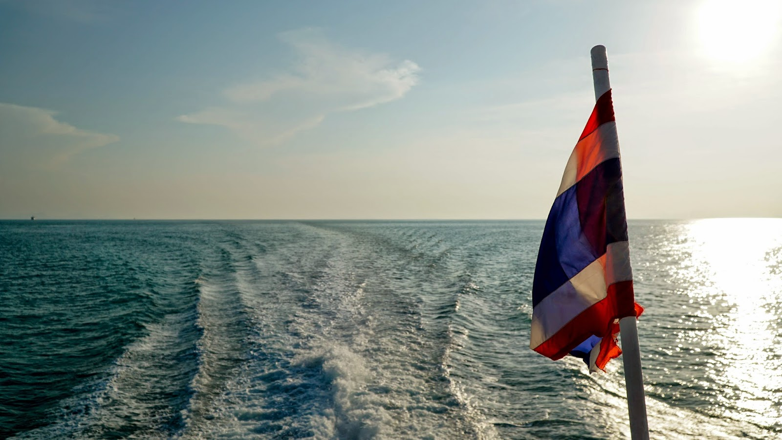 On the way to Koh Tao