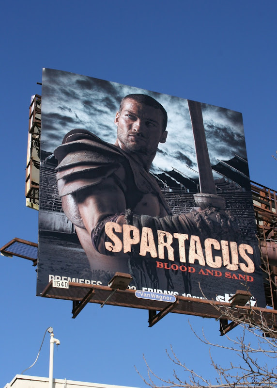 Spartacus Blood and Sand billboard