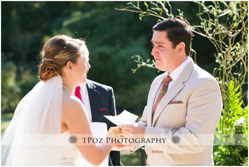 Maryland Zoo Wedding Baltimore Lakeside Pavilion Ceremony