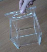 plexiglass κατασκευή αντικειμένων