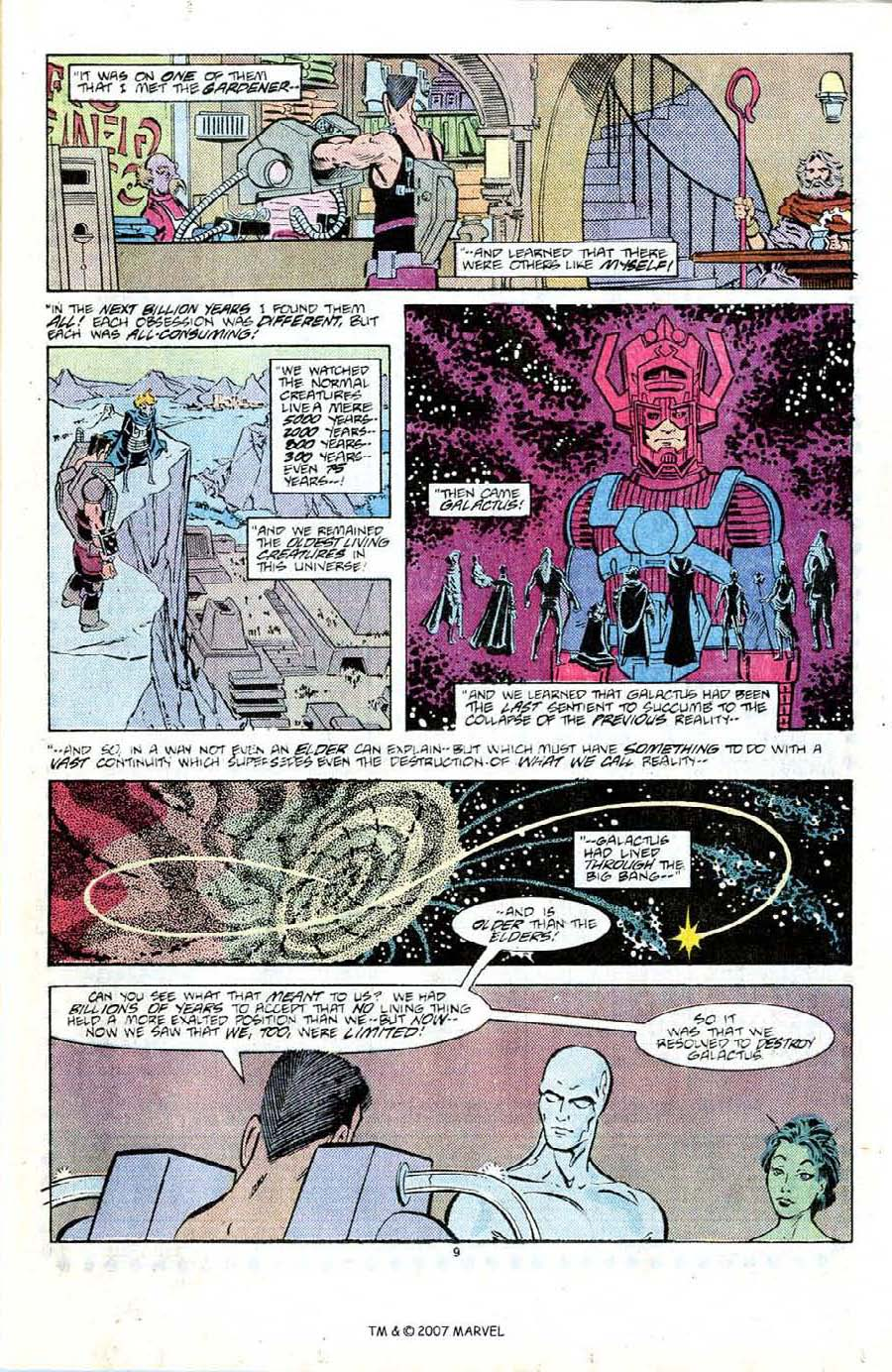 Read online Silver Surfer (1987) comic -  Issue #6 - 13