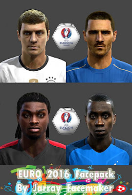 Euro 2016 Facepack By Jarray Facemaker