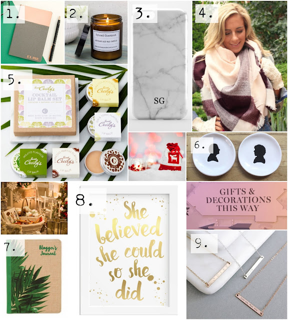 Etsy Christmas Gift Guide for Her on a student budget
