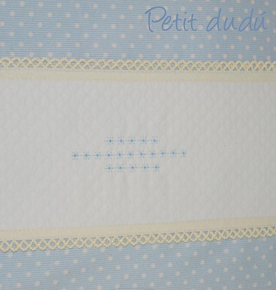 Conjunto de cuna bordado Petitdudu