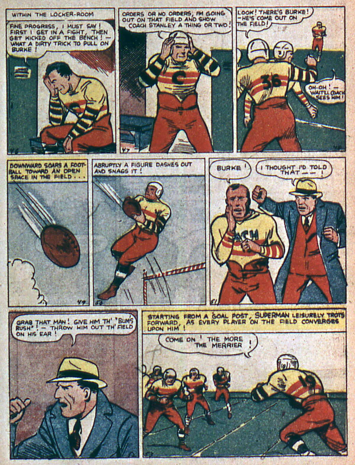Read online Action Comics (1938) comic -  Issue #4 - 10